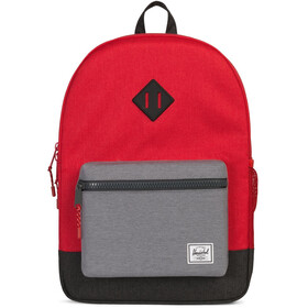 Herschel Heritage XL Backpack Youth Barbados Cherry/Mid Grey/Black